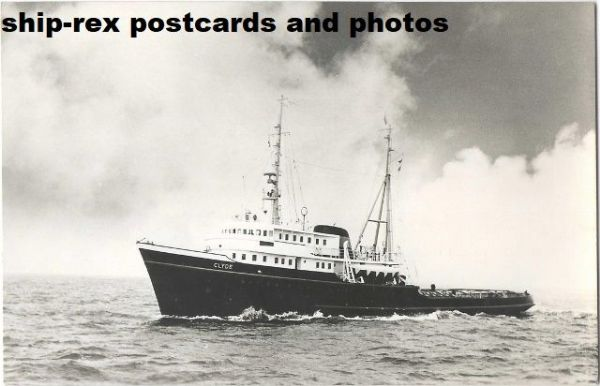 CLYDE (1957, L Smit & Co) postcard (a4)